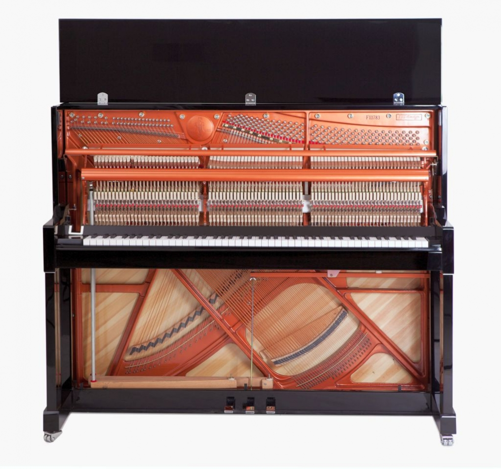 feurich mod 125 design mit klavierbank und frei haus. Black Bedroom Furniture Sets. Home Design Ideas